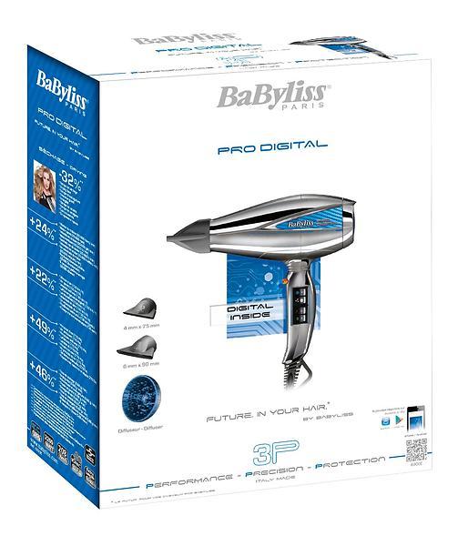 BaByliss Pro Digital 6000E