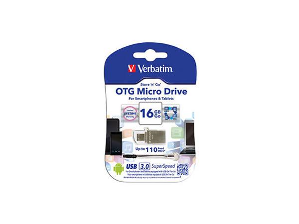 Verbatim USB 3.0 Store-N-Go Micro OTG 16GB