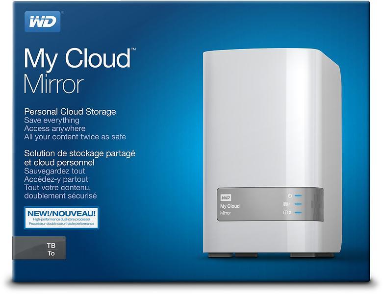 WD My Cloud Mirror V2 4TB