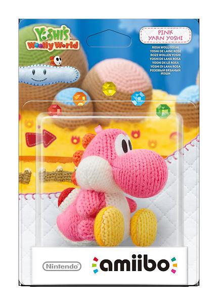 Nintendo Amiibo  Pink Yarn Yoshi