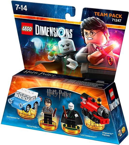 LEGO Dimensions 71247 Harry Potter Team Pack