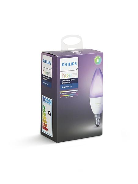 Philips Hue White and Color Ambiance B39 6500K E14 6W (Dimmerabile)