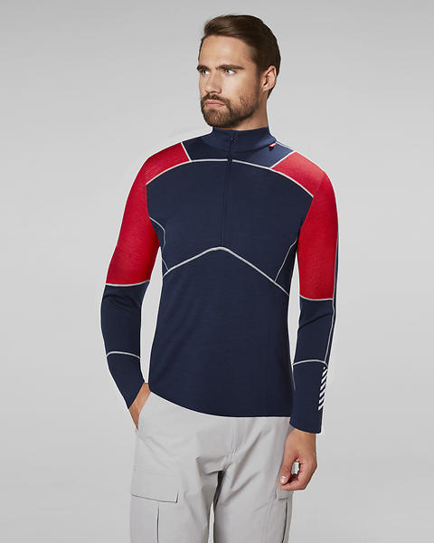 Helly Hansen Lifa Merino LS Shirt Half Zip (Uomo)