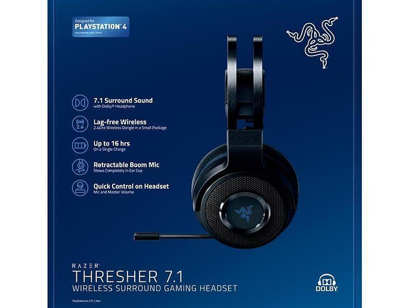 Razer Thresher 7 1 for PS4