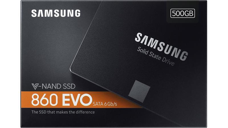 Samsung 860 EVO Series MZ-76E500B 500GB