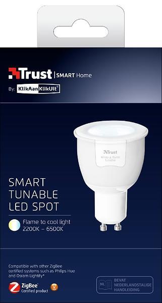 Trust ZigBee Tunable LED Spot ZLED-TUNEG6 (Dimmerabile)