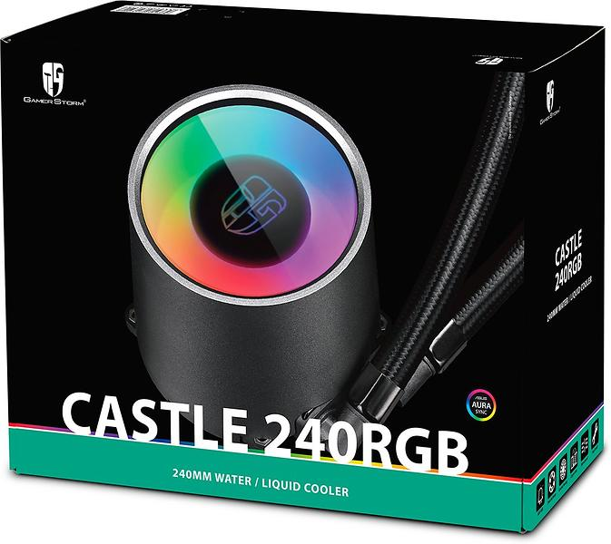Deepcool Gamerstorm Castle 240 RGB (2x120mm)