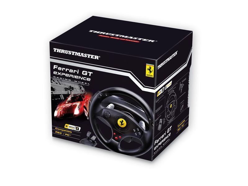 Thrustmaster Ferrari GT Experience Racing Wheel PCPS2PS3