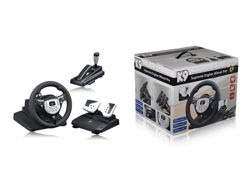 Playfect K-9 Supreme Engine Wheel Pro (PS3)