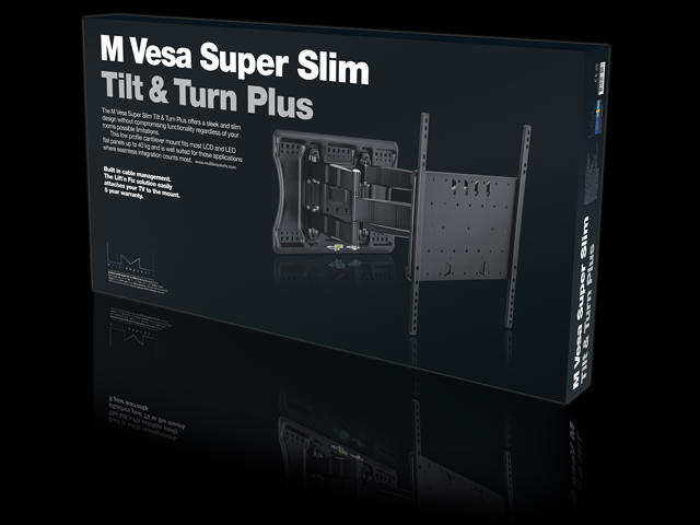 Multibrackets M VESA Super Slim Tilt & Turn Plus