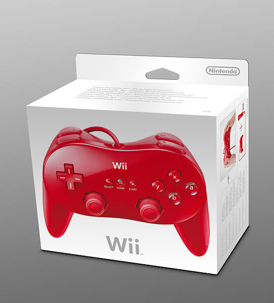 Nintendo Wii Classic Controller Pro (Wii) (Original)