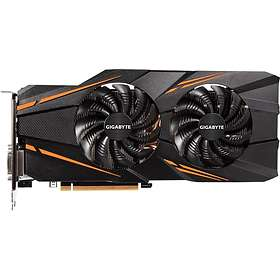Gigabyte GeForce GTX 1070 Windforce 2X OC HDMI 3xDP 8GB