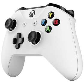 Microsoft Xbox One Wireless Controller S - White (Xbox One/PC) (Original)