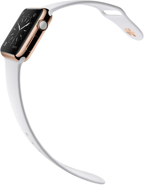 Apple Watch Edition 38mm with Sport Band
