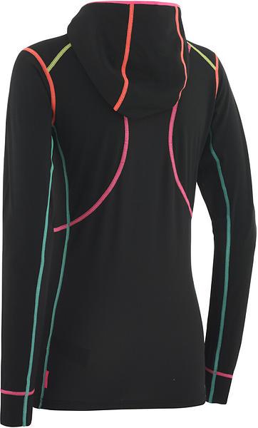Kari Traa Svala Hood LS Shirt Half Zip (Donna)