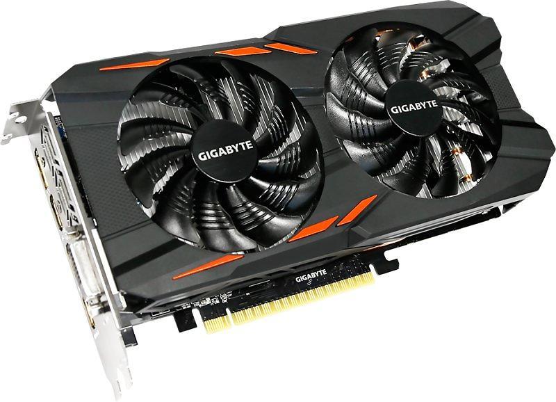 Gigabyte GeForce GTX 1050 Ti Windforce OC 3xHDMI DP 4GB