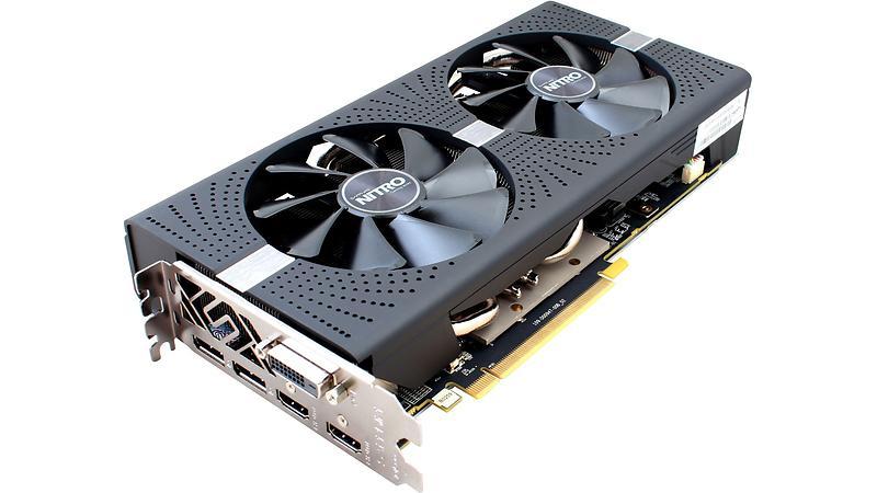 Sapphire Radeon RX 580 Nitro+ (11265-07) 2xHDMI 2xDP 4GB