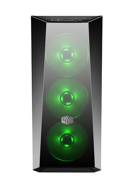 Cooler Master MasterBox Lite 5 RGB (Nero/Rosso/Trasparente)
