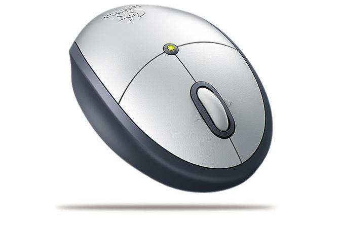 Logitech Cordless Mini Optical Mouse