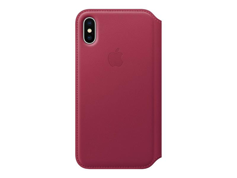 Apple Leather Folio for iPhone X