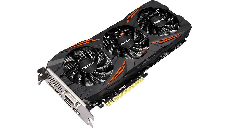 Gigabyte GeForce GTX 1070 Ti Gaming OC HDMI 3xDP 8GB