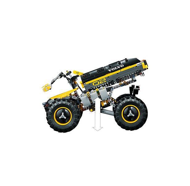 Technic Volvo Tractopelle Lego Concept 42081 Zeux Le IbyYfgmv67