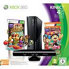 Microsoft Xbox 360 Slim 4GB (inkl. Kinect + Kinect Adventures + Carnival Games)