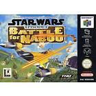 Star Wars: Episode I: Battle for Naboo (N64)