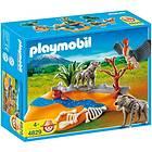 Playmobil African Wildlife 4829 Couple de hyènes et vautour