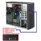 Supermicro SC732D4F-903B (Svart)