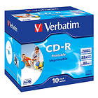 Verbatim CD-R 700MB 52x 10-pack Jewelcase Inkjet