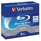 Verbatim BD-RE 25GB 2x 5-pack Jewelcase