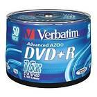 Verbatim DVD+R 4,7GB 16x 50-pack Spindel