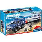 Playmobil Police 5187 Polisjeep med Racerbåt