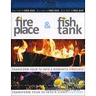 Fireplace and Aquarium