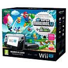 Nintendo Wii U Premium (inkl. Super Mario + Luigi Bros. U)
