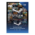 Steam Wallet Card - 20 GBP