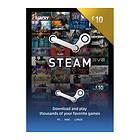 Steam Wallet Card - 10 GBP