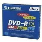 Fujifilm DVD-R DL 8,5GB 4x 3-pack Jewelcase