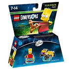 LEGO Dimensions 71211 The Simpsons Fun Pack Bart