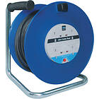 Masterplug Open Cable Reel 4-Way 25m
