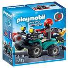 Playmobil City Action 6879 Rånare på Fyrhjuling