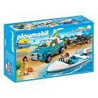 Playmobil Summer Fun 6864 Surfer Pickup with Speedboat