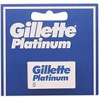 Gillette Platinum 5-pack Double Edge