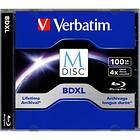 Verbatim BD-R XL 100GB 4x 1-pack Jewelcase