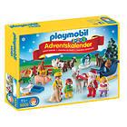 Playmobil 1.2.3 9009 Jul på Bondegården Julekalender 2016