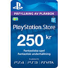 Sony PlayStation Network Card - 250 SEK