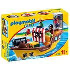 Playmobil 1.2.3 9118 Pirate Ship