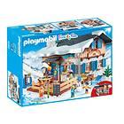 Playmobil Family Fun 9280 Chalet avec skieurs