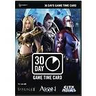NCsoft Generic 30 Day Time Card